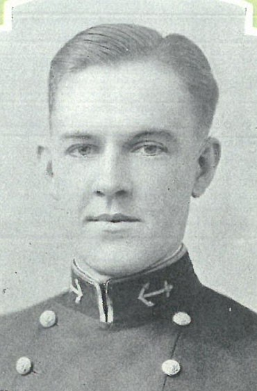 <p>Photo of Captain Charles B. Beasley copied from page 362 of the 1927 edition of the U.S. Naval Academy yearbook 'Lucky Bag'.</p>