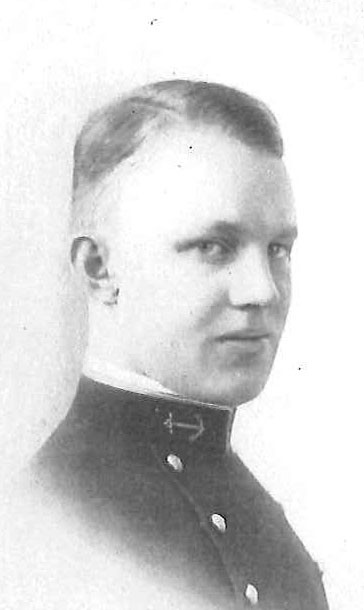 <p>Photo of&nbsp;Vice Admiral Frank E. Beatty copied from page 70 of the 1916 edition of the U.S. Naval Academy yearbook 'Lucky Bag'.</p>