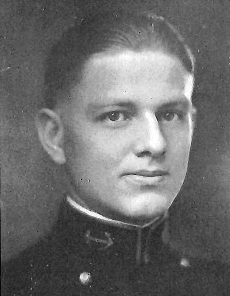 <p>Photo of Rear Admiral Edward L. Beck&nbsp;copied from page 196 of the 1925 edition of the U.S. Naval Academy yearbook 'Lucky Bag'.</p>