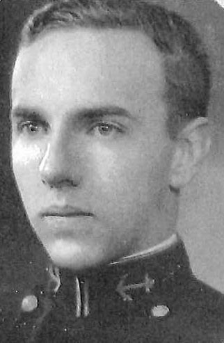 Photo of Captain Robert P. Beebe copied from page 62 of the 1931 edition of the U.S. Naval Academy yearbook 'Lucky Bag'.