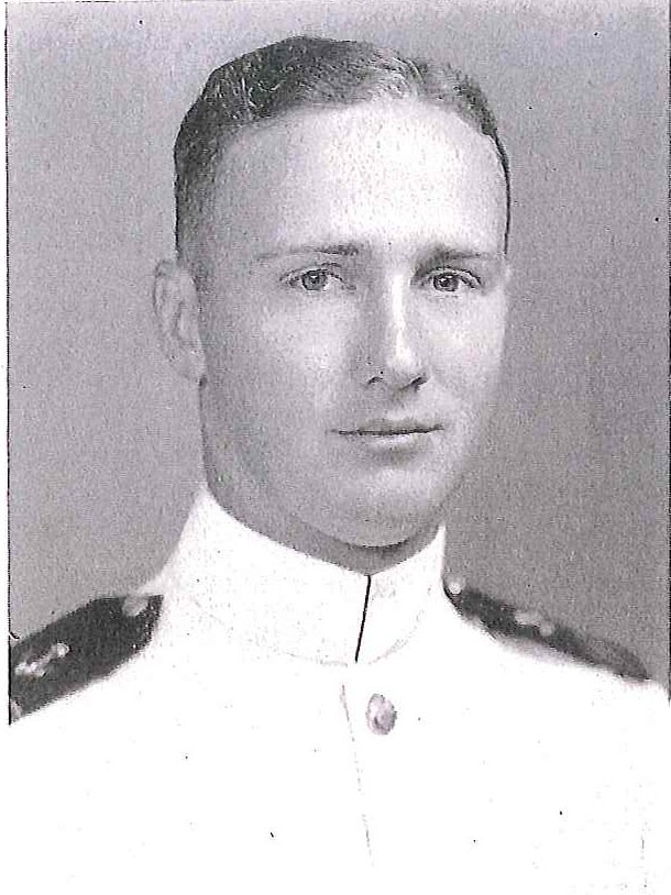 Photo of VADM Clarence E. Bell copied from page ;134 of the 1939 edition of the U.S. Naval Academy yearbook 'Lucky Bag'.