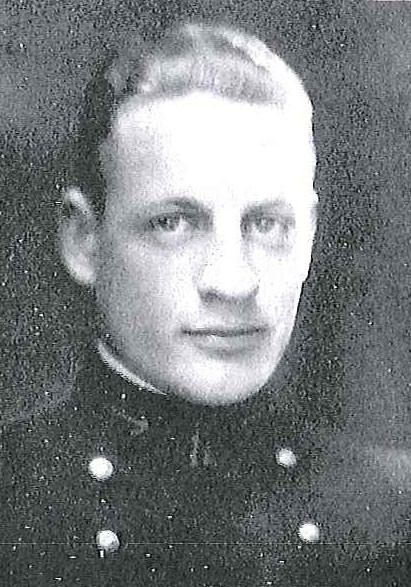Photo of Captain Captain Warren K. Berner copied from page 306 of the 1922 edition of the U.S. Naval Academy yearbook 'Lucky Bag'.