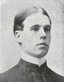 JPEG image of  Frank Dunn Berrien as a midshipman from the 1900 edition of the U.S. Naval Academy's 'Lucky Bag', page 14.