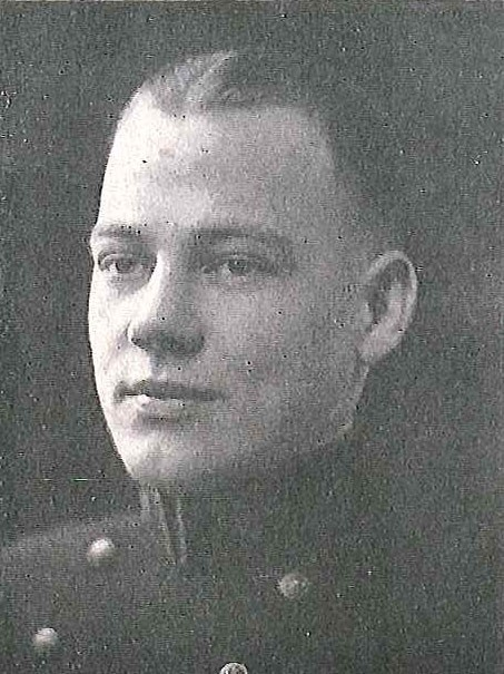 Photo of Captain Elmer Edward Berthold copied from page 178 of the 1924 edition of the U.S. Naval Academy yearbook 'Lucky Bag'.