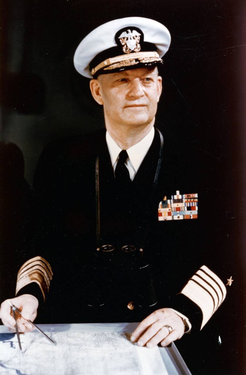 Photo #: 80-G-K-18291 Admiral Arleigh A. Burke, USN