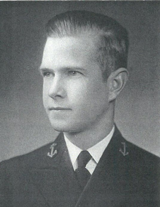 Image of VADM Turner Foster Caldwell, Jr. is from the 1935 Lucky Bag.