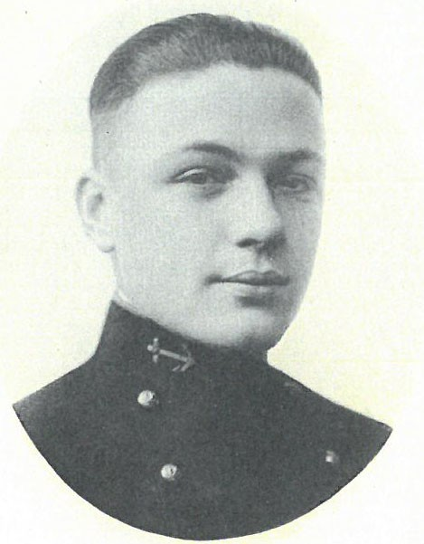 Image of RADM Fort Hammond Callahan is from the 1921 Lucky Bag.