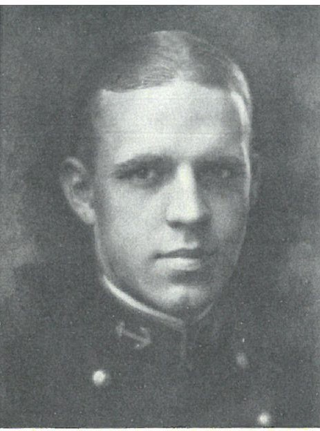 Image of Captain Allen P. Calvert is from page 94 of the 1924 Lucky Bag.