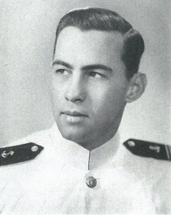 Image of Captain Alan R. Cameron is on page 336 of the 1944 Lucky Bag