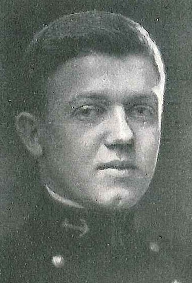 Photo of Captain Richard P. Carlson copied from page 188 of the 1924 edition of the U.S. Naval Academy yearbook 'Lucky Bag'.