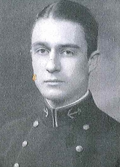 Photo of Captain Edward S. Carmick copied from page 125 of the 1930 edition of the U.S. Naval Academy yearbook 'Lucky Bag'.