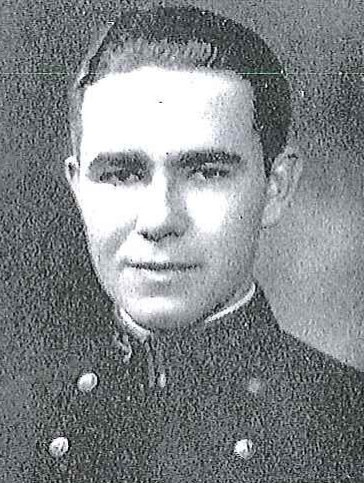 Photo of Commander Francis M. Carter copied from page 188 of the 1930 edition of the U.S. Naval Academy yearbook 'Lucky Bag'.