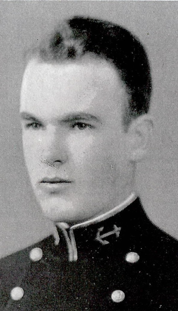 Photo of Captain Lamar P. Carver copied from page 310 of the 1929 edition of the U.S. Naval Academy yearbook 'Lucky Bag'.