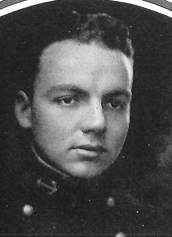 Photo of Vice Admiral Alvin D. Chandler copied from page 138 of the 1923 edition of the U.S. Naval Academy yearbook 'Lucky Bag'.
