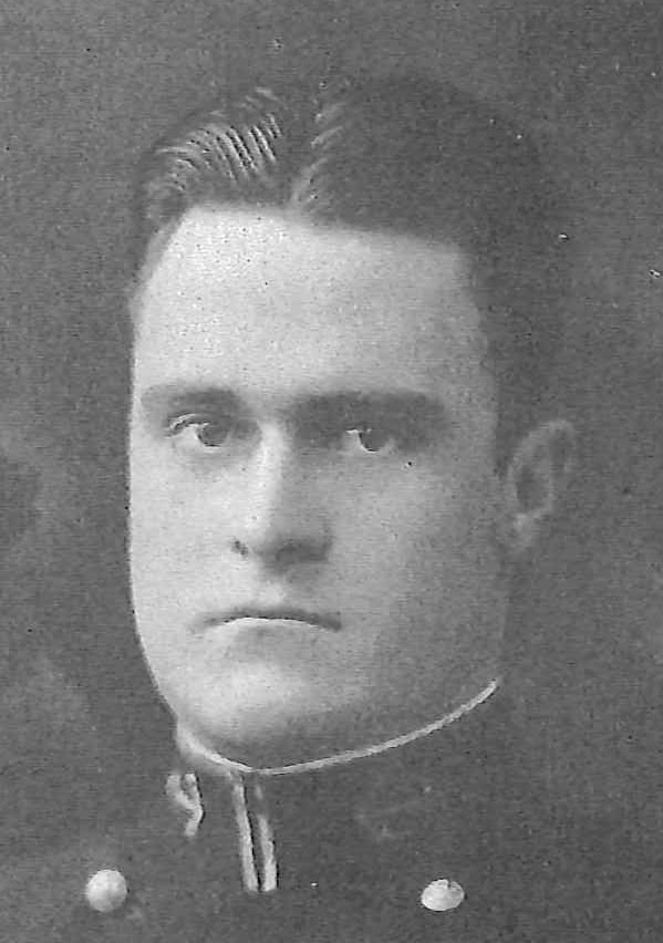 Photo of Captain Henri De B. Claiborne copied from page 392 of the 1926 edition of the U.S. Naval Academy yearbook 'Lucky Bag'.