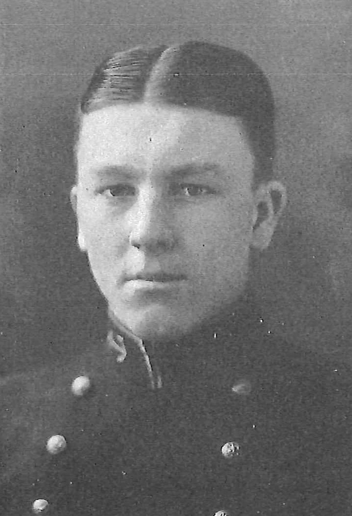 Photo of Mark Wellington Clay copied from page 316 of the 1926 edition of the U.S. Naval Academy yearbook 'Lucky Bag'