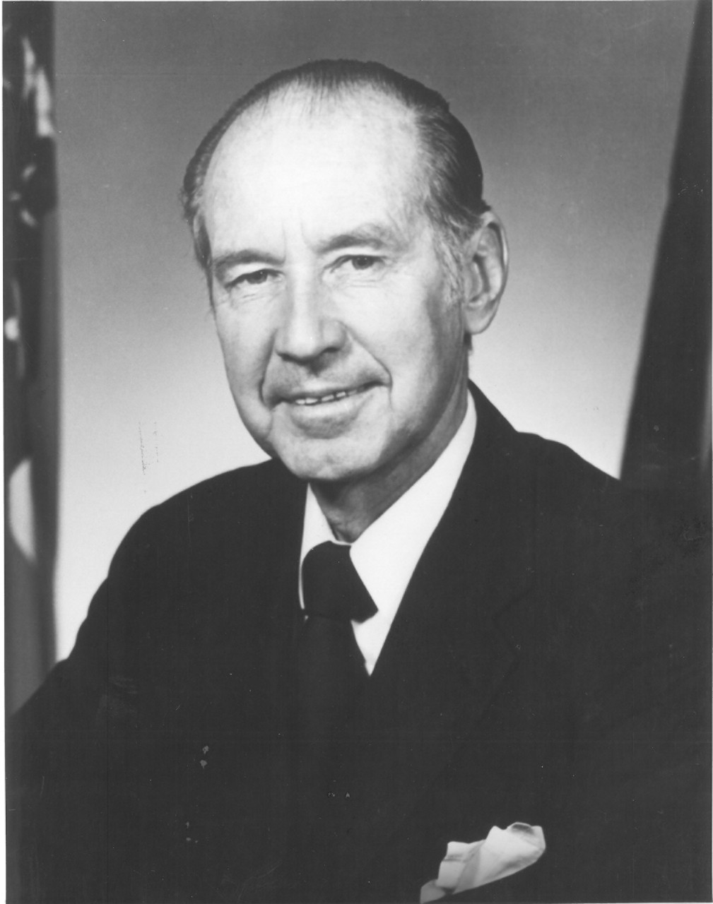 Secretary of the Navy William Graham Claytor, Jr.