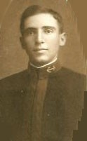 Photo of Francis Cogswell copied from the 1908 edition of the U.S. Naval Academy yearbook 'Lucky Bag'