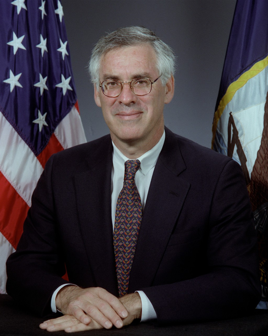 Secretary of the Navy Richard Jeffrey Danzig