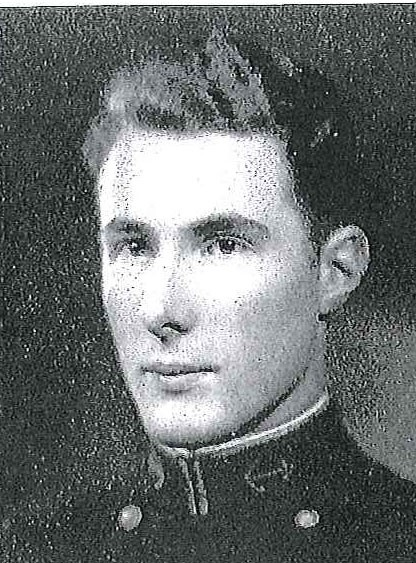 Photo of Captain Henry C. DeLong copied from page 221 of the 1932 edition of the U.S. Naval Academy yearbook 'Lucky Bag'.