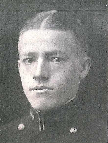 Photo of Captain William V. Deutermann copied from page 70 of the 1924 edition of the U.S. Naval Academy yearbook 'Lucky Bag'.