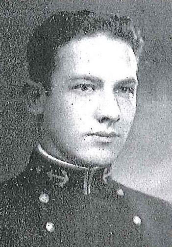 Photo of Captain Paul L. deVos copied from page 200 of the 1930 edition of the U.S. Naval Academy yearbook 'Lucky Bag'.