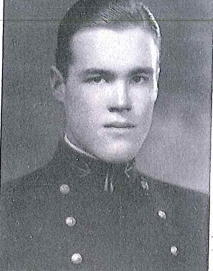 Photo of Rear Admiral Walter G. Ebert copied from page 235 of the 1930 edition of the U.S. Naval Academy yearbook 'Lucky Bag'.