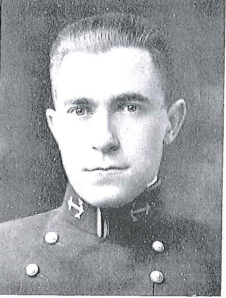 Photo of Rear Admiral Henry E. Eccles copied from page 108 of the 1922 edition of the U.S. Naval Academy yearbook 'Lucky Bag'.