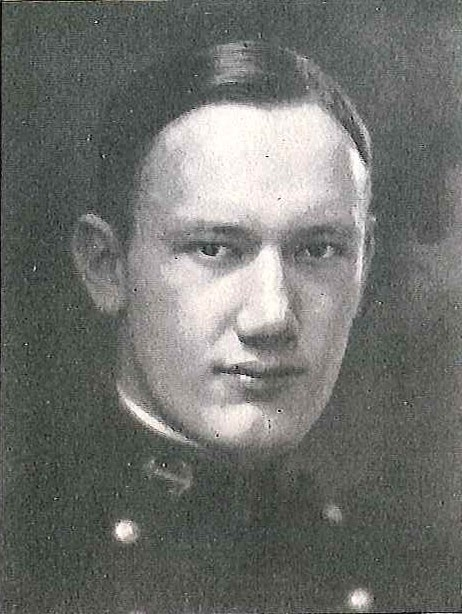 Photo of Capt. Walter T. Eckberg copied from page 74 of the 1924 edition of the U.S. Naval Academy yearbook 'Lucky Bag'.