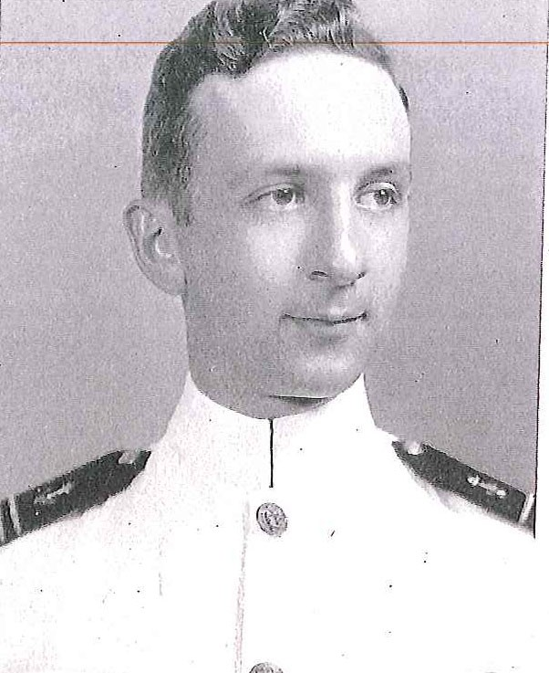 Photo of Capt. Thomas R. Eddy copied from page 78 of the 1939 edition of the U.S. Naval Academy yearbook 'Lucky Bag'.