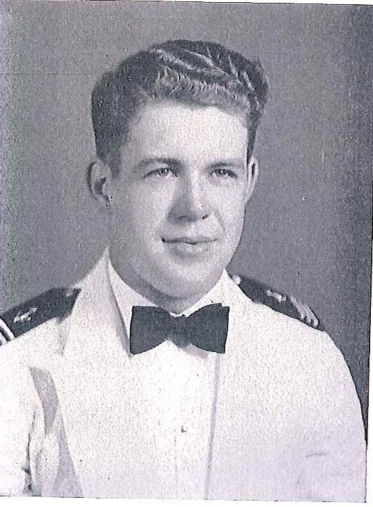 Photo of Lieutenant Commander Ernest J. Edmands copied from page 232 of the 1941 edition of the U.S. Naval Academy yearbook 'Lucky Bag'.