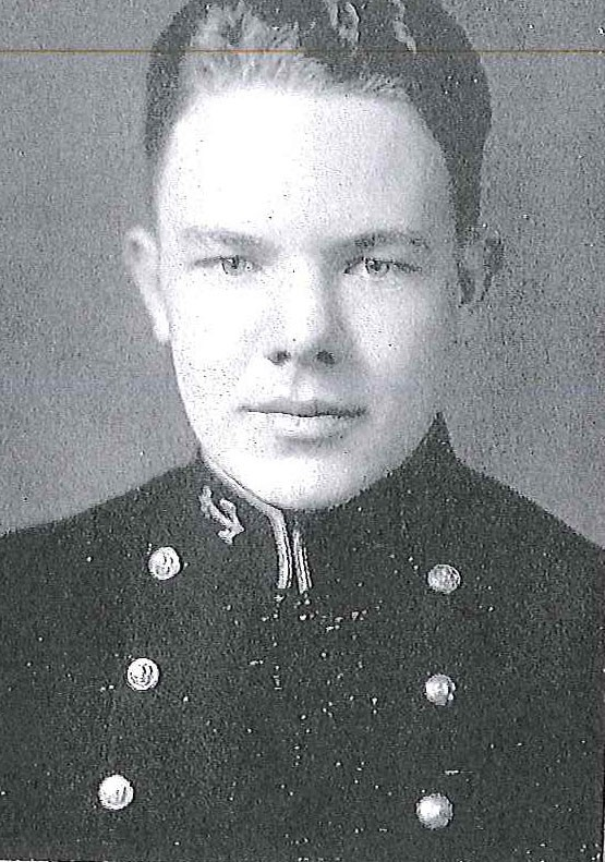 Photo of Commander Ralph A. Embree copied from page 235 of the 1936 edition of the U.S. Naval Academy yearbook 'Lucky Bag'.