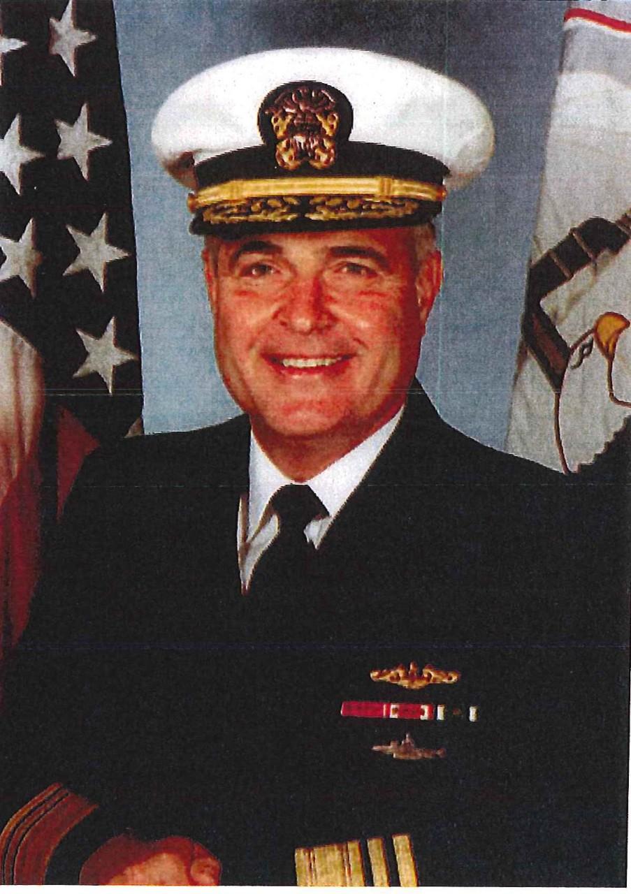 Vice Admiral George W Emery USN Ret