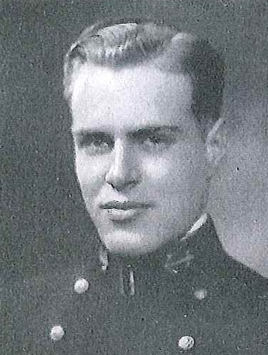 Photo of Captain William S. Estabrook, Jr. copied from page 249 of the 1930 edition of the U.S. Naval Academy yearbook 'Lucky Bag'.