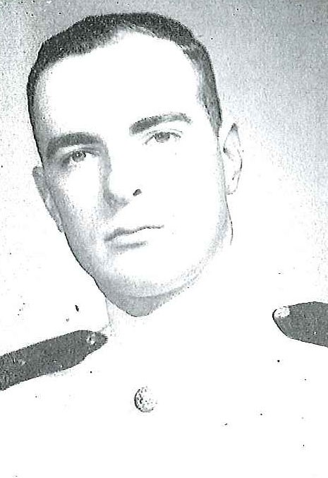 Photo of Vice Admiral Ronald M. Eytchison copied from page 248 of the 1958 edition of the U.S. Naval Academy yearbook 'Lucky Bag'.