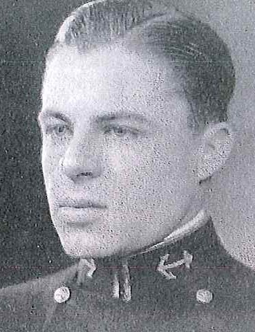 Photo of Commander Carl M. Fellows copied from page 157 of the 1933 edition of the U.S. Naval Academy yearbook 'Lucky Bag'.