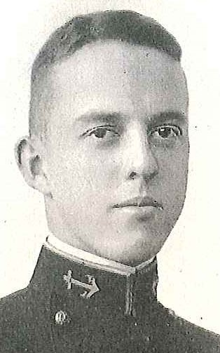 Photo of Rear Admiral Floyd F. Ferris copied from page 410 of the 1921 edition of the U.S. Naval Academy yearbook 'Lucky Bag'.