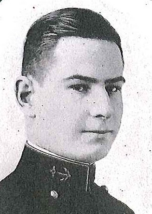 Photo of Rear Admiral Harold F. Fick copied from page 140 the 1919 edition of the U.S. Naval Academy yearbook 'Lucky Bag'.