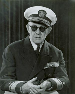 Rear Admiral John Ford, US Naval Reserve, 1 February 1895 - 31 August 1973, photo taken April 1952; NHHC, Photographic Section, #80-G-441622.