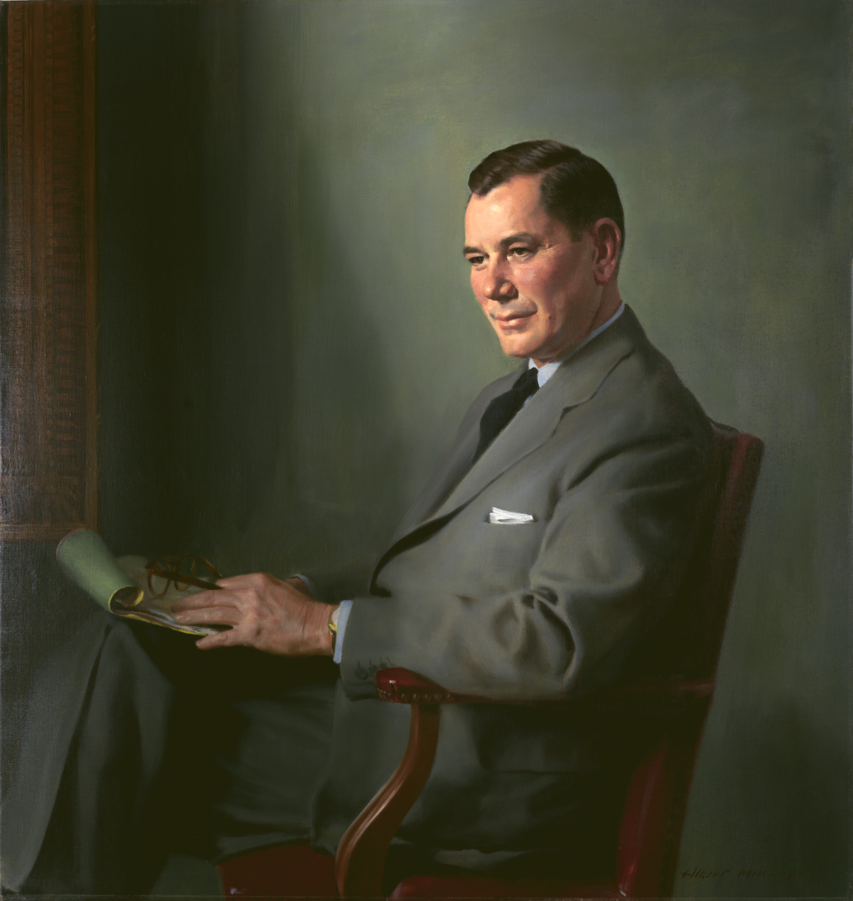 Portrait of Thomas S. Gates Jr. Secretary of the Navy