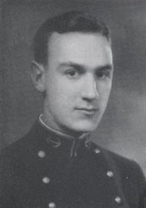 Captain Paul F. Heerbrandt, US Navy. Class of 1930, US Naval Academy photograph, 'Lucky Bag' page 262.