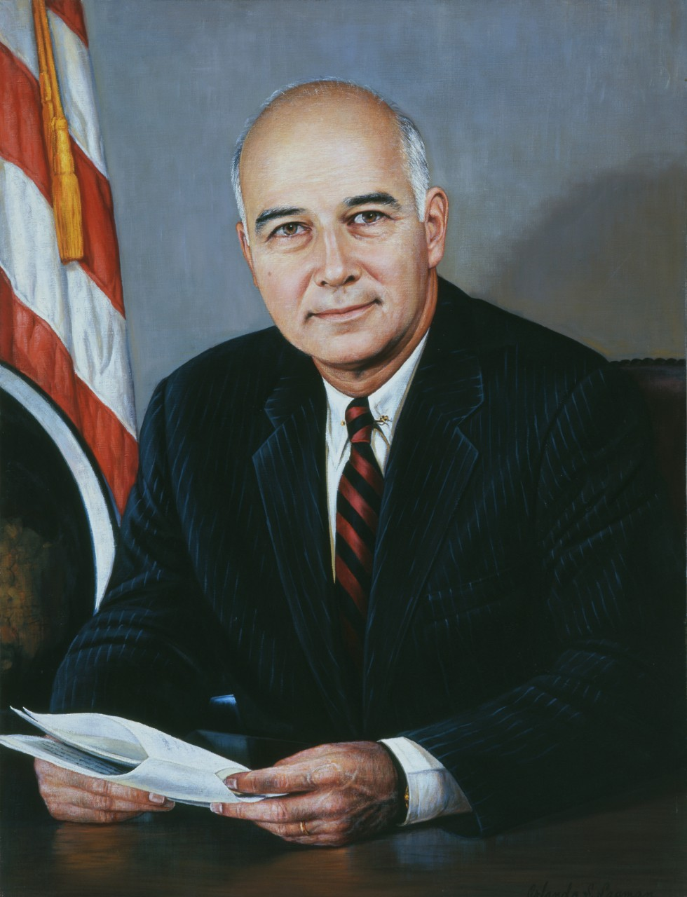Portrait of Secretary of the Navy Paul Robert Ignatius