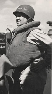 Image of Captain Dixie Kiefer, 1944. Photographic Section, Naval History and Heritage Command. Cropped from photo #: 80-G-469523.