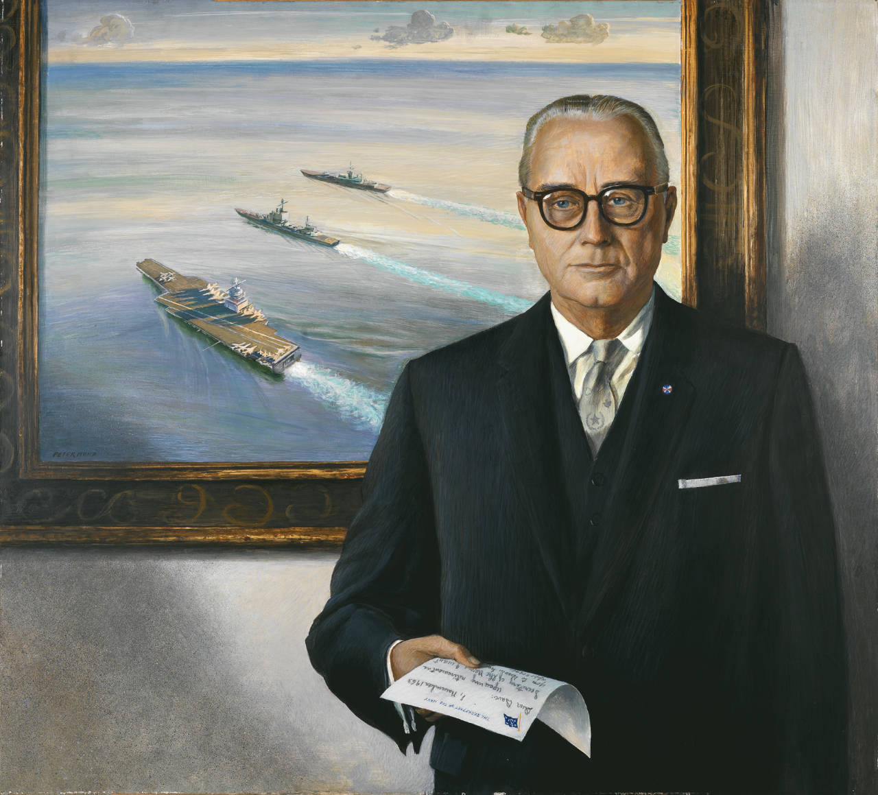 Portrait of Secretary of the Navy Frederick Herman Korth