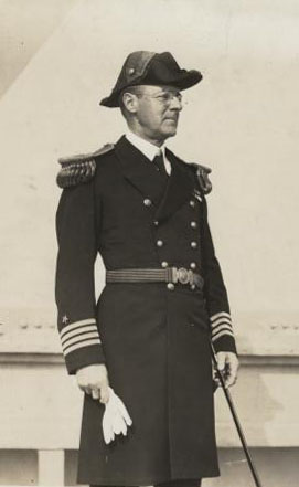 Captain Henry E. Lackey, USN. A photograph taken before June 1932. Photographic Section, Naval History and Heritage Command, #NH48368.