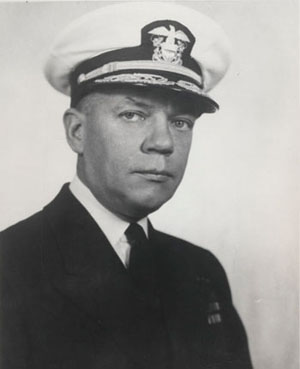 Image of Rear Admiral Francis S. Low. Photograph section, Naval History and HEritage Command, #80-G302311.