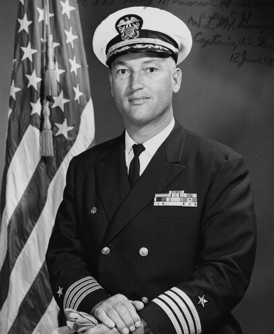 Photo #: NH 97472  Captain William Loren McGonagle, USN