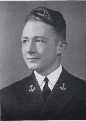 Admiral Frederick H. Michaelis, USN - 'Lucky Bag' Class of 1940 picture, page 285