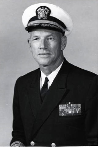 Vice Admiral L.M. Mustin, Director Defense Atomic Support Agency, Quarters F, Naval History & Heritage Command, Photographic Section.