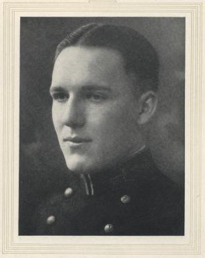 Image of Captain james. V. Query from the 1925 Lucky Bag, page 203.